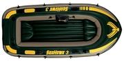 Лодка новая SeaHawk3 насос, вёсла, 2 подушки.Возможна доставка по городу