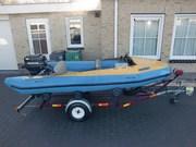 Лодку ПВХ с мотором и лаветой
