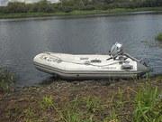 лодка пвх и мотор honda 2.3