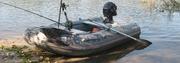 Продам лодку Кайман 275+мотор Парсун 2, 6 четырёх тактный