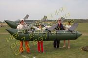 Надувные баллоны для Катамаранов,  Мини земснаряда,  Плотов из ПВХ плотность 1100
