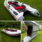 лодка ПВХ моторно-гребная Альтаир  Sirius-335 stringer с КИЛЕМ новая
