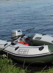 Продам лодку Велес 330   Мотор Honda 15