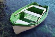 моторно-гребная лодка